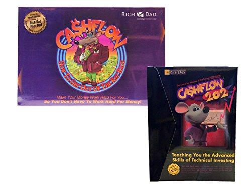 CASHFLOW 101 & CASHFLOW 202 INVESTMENT BOARD GAME - BY ROBERT KIYOSAKI FROM RICH DAD POOR DAD