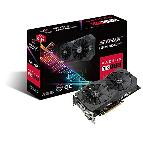 Asus ROG Strix Radeon Rx 570 O4G Gaming OC Edition...