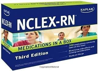 Kaplan NCLEX-RN Medications in a Box 3rd (third) Edition by Kaplan published by Kaplan Publishing (2011) Paperback