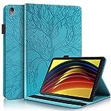 CaseFun Funda Compatible con Lenovo Tab P11 11-Pulgada 2020 Tableta (TB-J606F / TB-J606X),Funda de Cuero Premium con Bolsillo Función de Soporte para Lenovo Tab P11 11 Pulgada 2020 Tableta,Azul