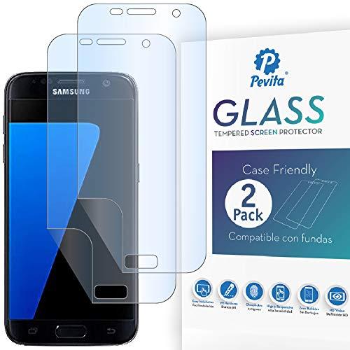 Pellicola Protettiva idrogel Samsung Galaxy S7 [2 Packs] Senza Bolle, Facile Installazione. Vetro idrogel Samsung Galaxy S7