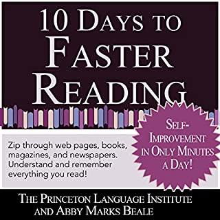 10 Days to Faster Reading: Jump-Start Your Reading Skills with Speed reading cover art