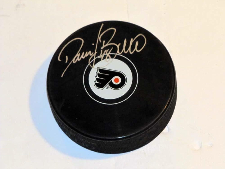 Danny Briere Autographed Puck  Coa Photo Proof  Autographed NHL Pucks