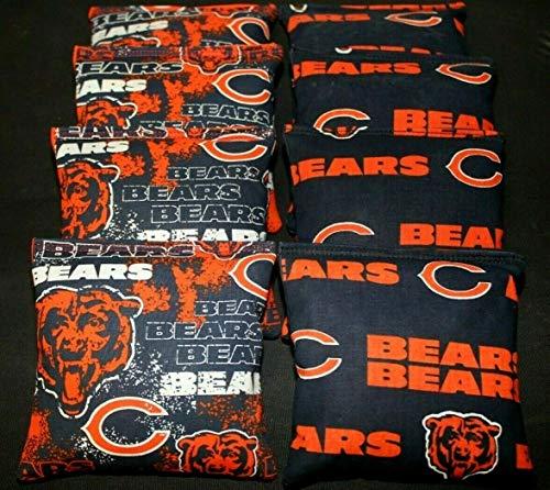 chicago bears corn hole bags - 1