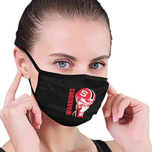Hillcrest Warriors Unisex Graphics comfortabele wasbare herbruikbare neus - afdekking haarband outdoor activiteiten neusbescherming