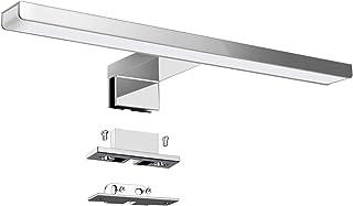 KINGSO Lampe pour Miroir LED Salle de Bains IP44 6W 600lm Lampe Armoire Miroir Applique Murale Intérieure Moderne Luminair...