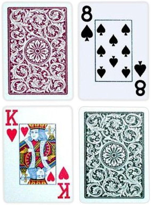 con 60% de descuento CopagT Poker Talla JUMBO Index - verdeBurgundy Setup Setup Setup by Copag  exclusivo