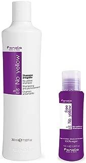 Fanola No Yellow Shampoo, 350 ml with Free Vegan Travel Size