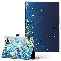 igcase 第6世代 第5世代 iPad 9.7インチ iPad 6 / 5 2018/2017年 モデル A1893 A1954 A1822 A1823 手帳型 タブレットケース タブレットカバー 手帳タイプ 直接貼り付けタイプ 004621 ラグジュアリー 雪 結晶 クリスマス