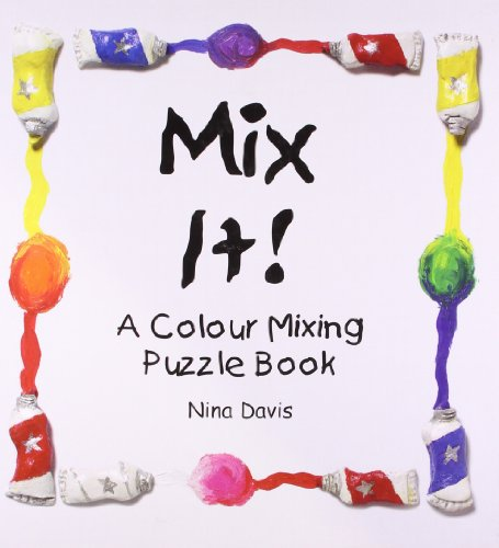 Mix It!: Colour Mixing Book with Foam Puzzle Pieces