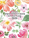 Salon Appointment Book 2020: Appointment Planner for January 2020 - December 2020 Hourly Planner, 7 AM to 10 PM Daily Hourly Planner + Notes Section, ... Log, Floral Appointment Book Floral, Colorful