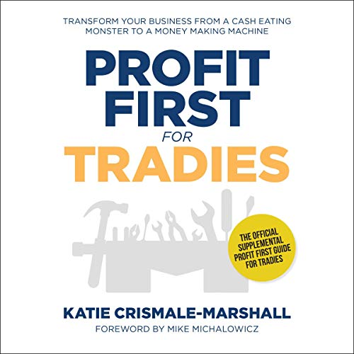 Profit First for Tradies cover art
