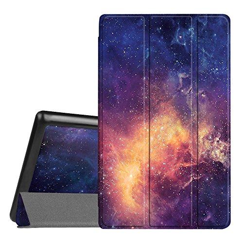 Fintie Hülle für Amazon Fire HD 8 Tablet (7. & 8. Generation - 2017 & 2018) - Superdünne Lightweight Schutzhülle Tasche mit Standfunktion & Auto Schlaf/Wach Funktion, Die Galaxie