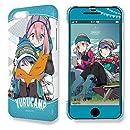 ゆるキャン△ iPhone 7 Plus/8 Plusケース&保護シート Ver.2 デザイン01(各務原なでしこ&志摩リン)