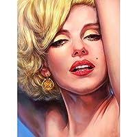 ラインストーンA69131の5DDIYダイヤモンド絵画マリリンモンローフルドリルスクエアダイヤモンド刺繡写真