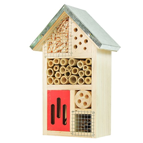 Niteangel Wooden Insect House, Perfect Home for Ladybirds and...
