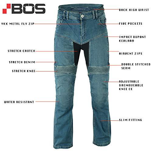 Motorradhosen Textilhose Wasserdicht Winddicht Mit Protektoren Schwarz,50 Kurz L Weite 34 L/änge 30