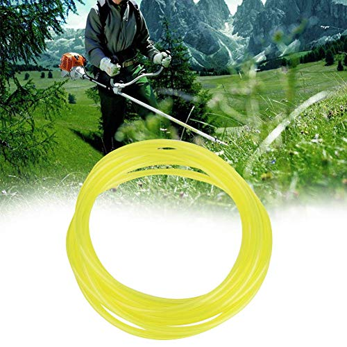 1.5 Meters Gas Petrol Fuel Line Hose, Gas Oil Tube Pipe with 4 Different Size for Mower Strimmer Chainsaw Blower