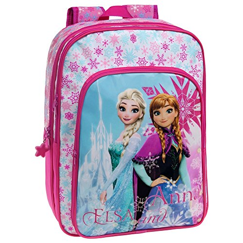 La Reine de Neiges Frozen Ice Set de Sac Scolaire, 40 cm, 15.6 L, Rose 45924A1
