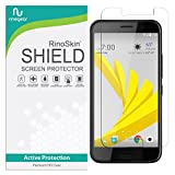 RinoGear HTC Bolt Screen Protector Case Friendly Screen Protector for HTC Bolt Accessory Full Coverage Clear Film