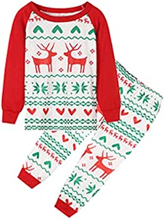 Family Christmas Pijamas Family Matching Clothes Año X-mas Pjs Family Look Madre e Hija Padre Ropa para bebés