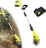 Elektrische Motorhacke 1500 Watt | 25cm Arbeitsbreite 10cm Arbeitstiefe | Bodenhacke | Ackerfräse...