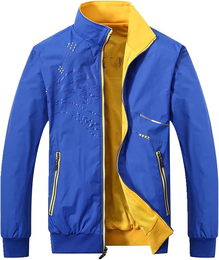 Men's Jacket Spring Autumn Sports Sportswea 2021 Collar Clothes Ranking TOP1 Stand