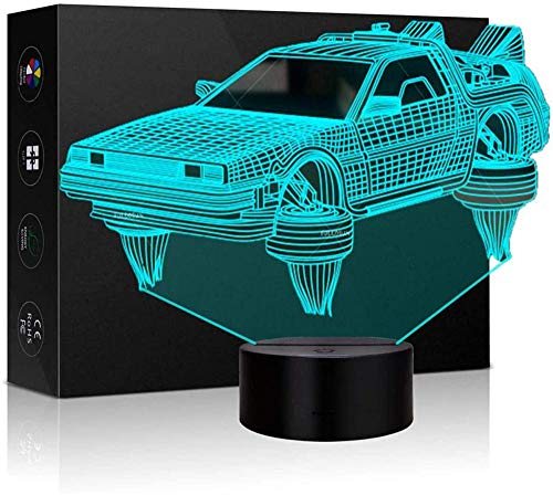 Lámpara visual 3D con luz nocturna 3D, 16 cambio de color, lámpara decorativa – Regalo perfecto para cumpleaños, festival, Navidad para bebés, adolescentes y amigos