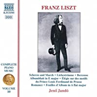 Complete Piano Music 10 by LISZT (1998-05-12)