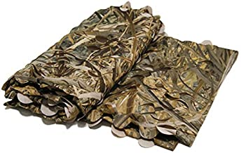 mydays Camo Net Hunting Blind BurlapVanish Leafy Cover Army Militaryfor Ground Tree Stands and Duck Blinds (Camo, 5ft×10ft)