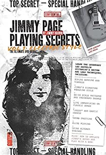 Guitar World: Jimmy Page Playing Secrets: Vol. 1 Electric Style (DVD) [Reino Unido]