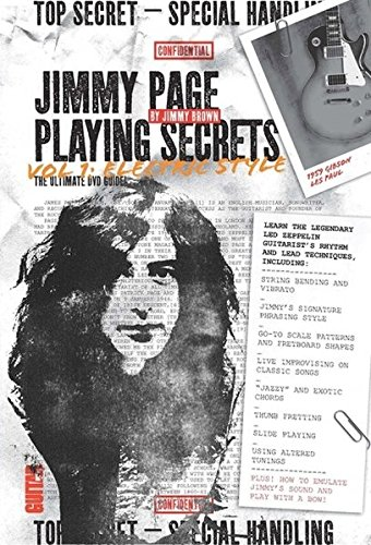 Guitar World: Jimmy Page Playing Secrets: Vol. 1 Electric Style (DVD)