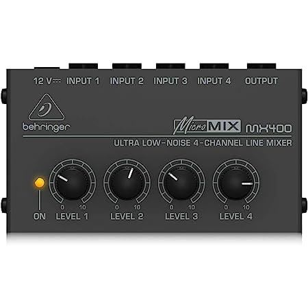 Behringer MX400 Micromix No Noise 4 canaux Mono Line Mixer