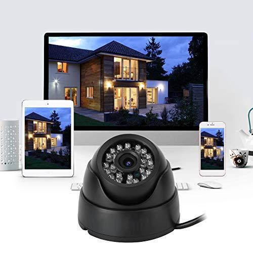 Cámara infrarroja, cámara de Seguridad para el hogar Negra Estable de plástico 1920 * 1080, para instantánea de detección de(European regulations)