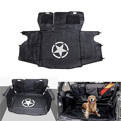 Per JK Wrangler 2007-2017 4 porte, BOXATDOOR Coprisedile Auto per Cani auto sedile posteriore copertura multiuso Storage Case amaca antiodore