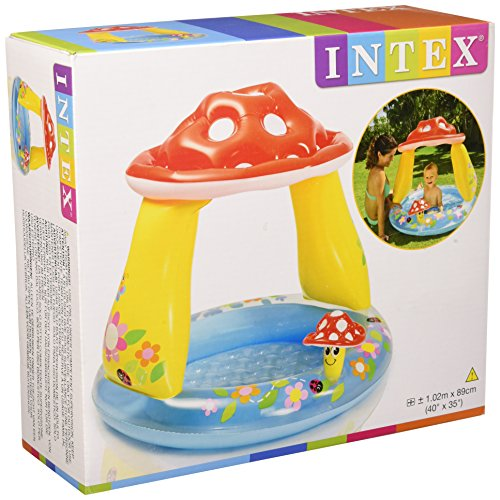 Intex 57114 - Piscina Baby Fungo, 102 x 89 cm,...