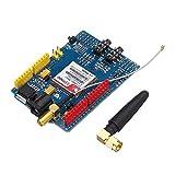 N\A For Arduino - Productos Que Funcionan con Placas Arduino Oficiales del Consejo de Desarrollo SIM900 Banda cuádruple gsm GPRS Escudo