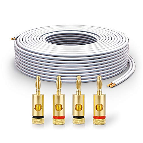 PureLink SP061-010 Speaker Cable 2 x 2.5 mm² (99.9% OFC Solid Copper 0.20...