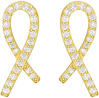 YERTTER Dainty Tiny Gold Mixed Heart Earrings Iced Out Earrings Ear Studs Rhinestones Crystal Ear Stud Ear Jewelry for Par...