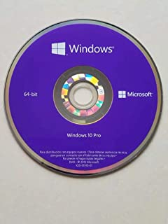 Windows 10 Pro OEM 64 Bit | Sistema Operativo Español | Profesional | OEI