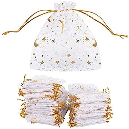 20 Violet Organza Sacs Cadeau Mariage Fête de Noël Bijoux Candy Sachets 9 x 12 cm