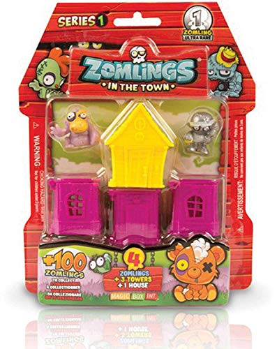 Magic Box Int. Zomlings Blister 4 (ASST)
