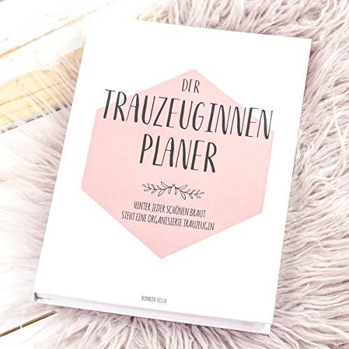 Trauzeugin Planer, Trauzeugin Geschenk, Der Planer für die Trauzeugin, Trauzeugin fragen - Willst...