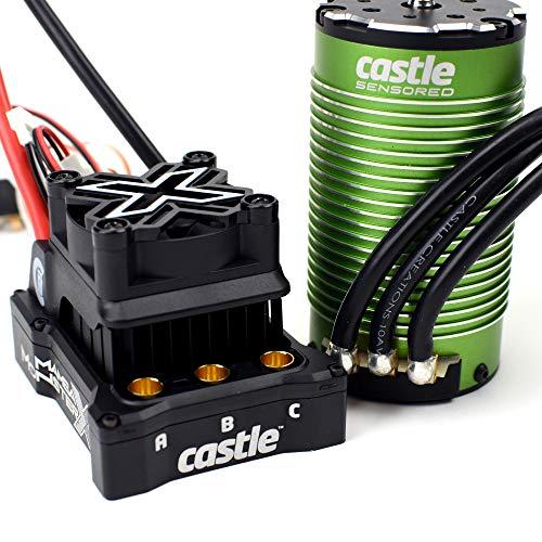 Castle Creations Mamba Monster X 8S 33.6V ESC with 1717-1260Kv Sensored Motor Combo, CSE010016503