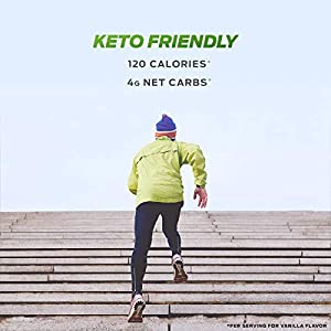 Vega Protein and Greens, Chocolate, Plant Based Protein Powder Plus Veggies - Vegan Protein Powder, Keto-Friendly, Vegetarian, Soy Free, Dairy Free, Lactose Free (25 Servings, 1 lb 12.7oz)