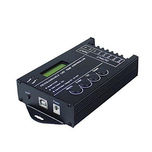 5 Kanäle DC12V-24V 20A programmierbare TC420 LED Zeit Dimmer Controller + CD