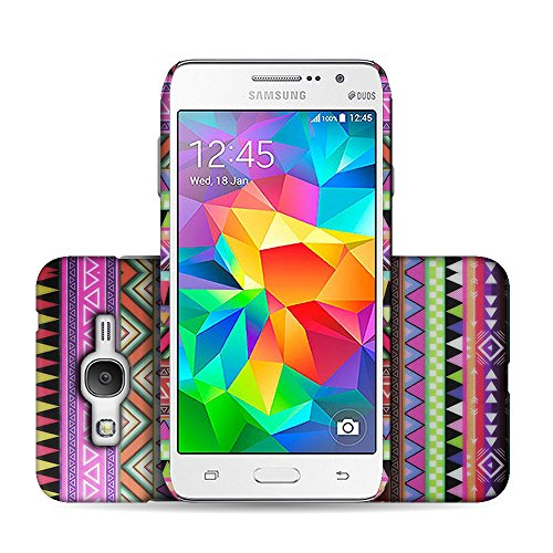 CoverON for Samsung Galaxy Grand Prime Hard Design Case [Slender Fit Series] Slim Polycarbonate Back Phone Cover - (Aztec Tribal)