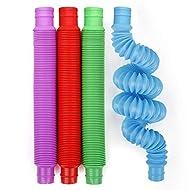 BunMo Pop Tubes Sensory Fidget Toys 8pk