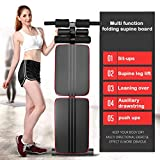 wisgofre Foldable Decline Sit up Bench Crunch Board Fitness Home Gym...