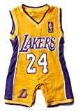 Lakers Baby Jersey (12 to 18 Months) Yellow
